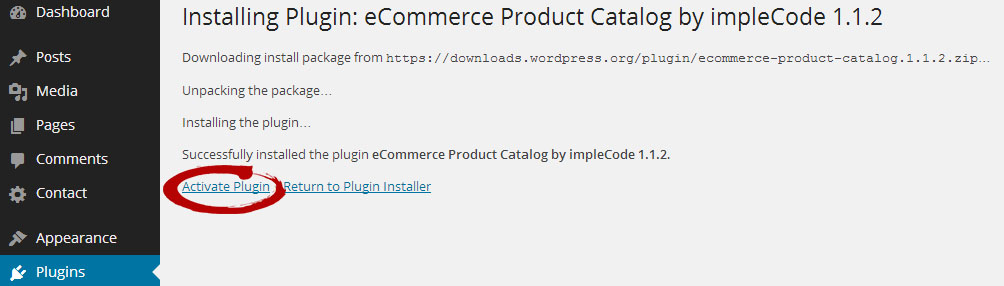 eCommerce Product Catalog Activation
