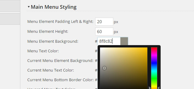 Product Theme Settings Example