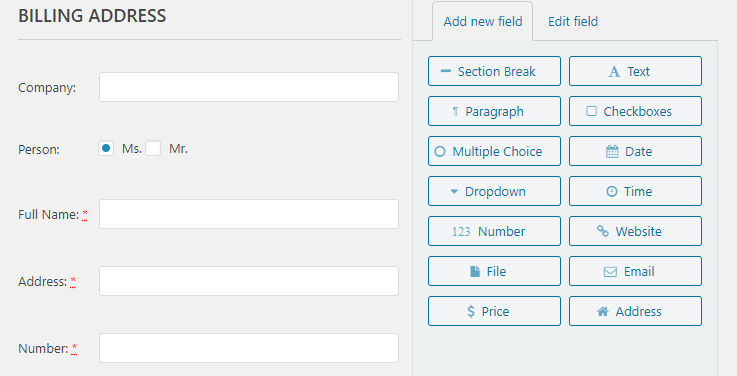 Checkout Customizer Screenshot