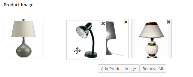 Change Product Image Order