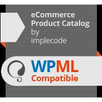 eCommerce Product Catalog WPML Compatible