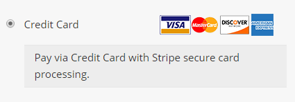Atripe Checkout Option