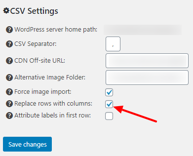 Replace CSV columns with rows