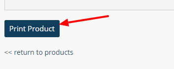Print Product Button screen settings