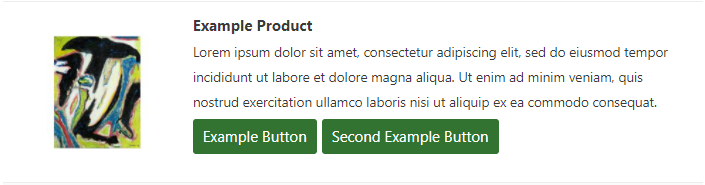 Listing button on front product list